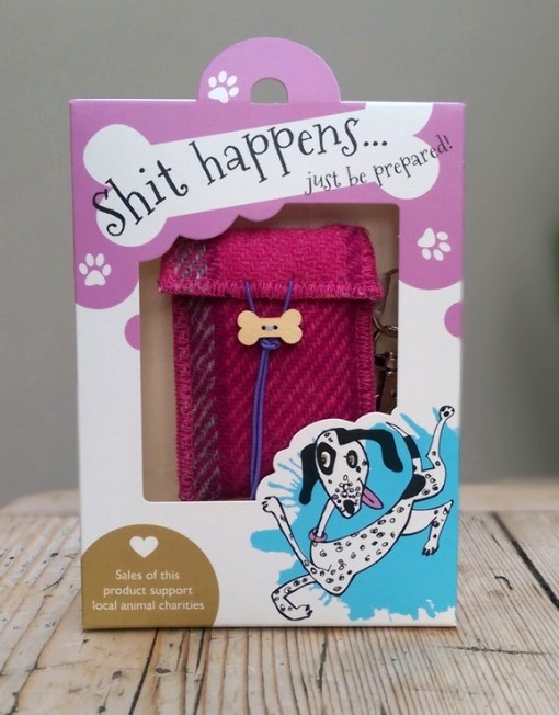 Bertie Girl Dog Poop Bag Holders